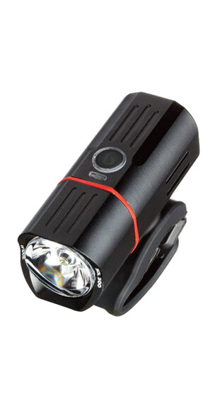 guee SOL 300 Plus Ambient Light Frontlicht Black